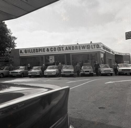 Gillespie Cars, Westport Garage, St Andrews.