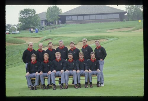 The 1987 USA Ryder Cup team