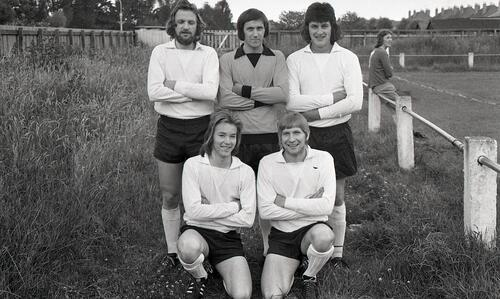 St Andrews United five-a-side team