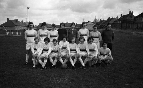 The St Andrews Colts Football Team.