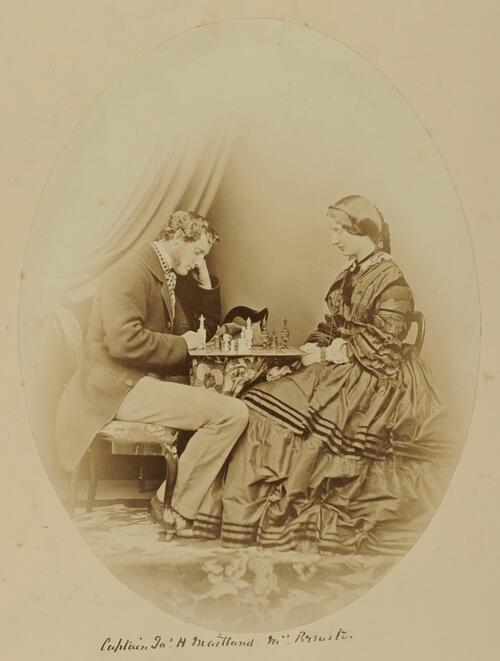 Captain Ja' H Maitland [and] Mrs Brewster