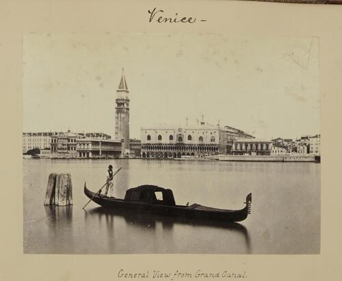 Venice - General view from Grand Canal