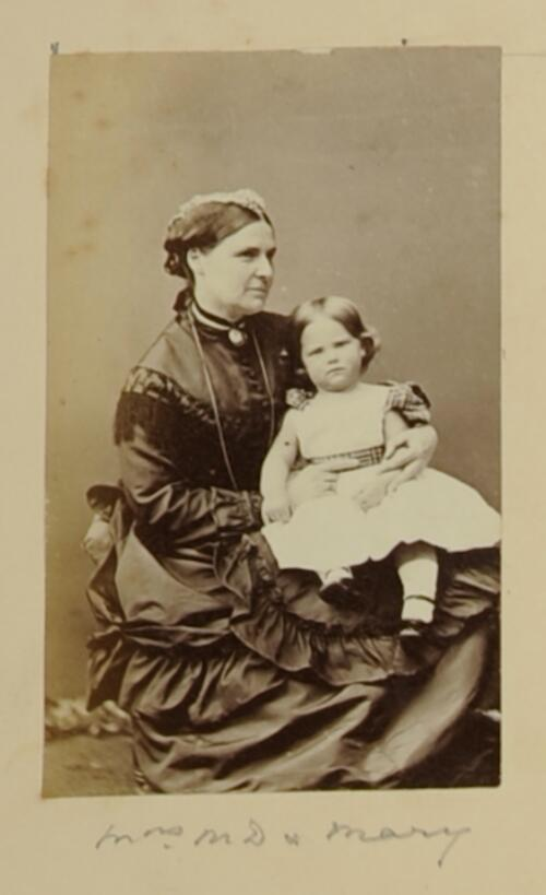 Mrs MD [Maitland Dougall] [and] Mary