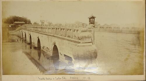 Marble Bridge in Tartar City - Peking Oct '79