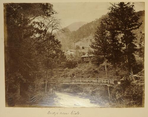 Bridge near Kioto
