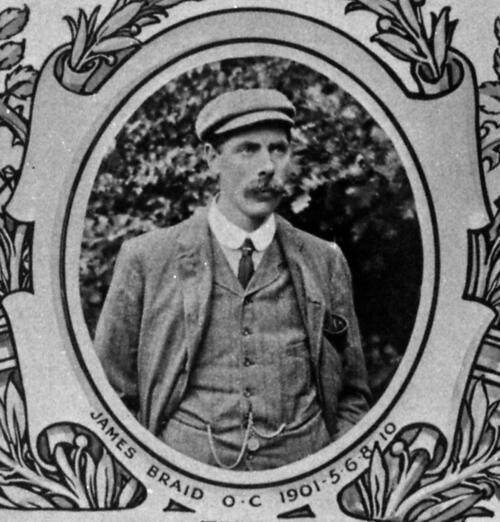James Braid, Open Champion.
