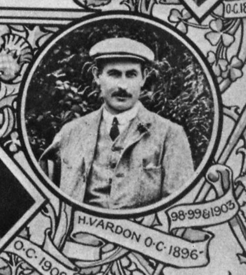 Harry Vardon, Open Champion.