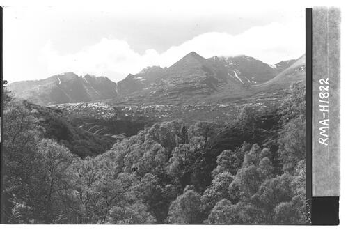 An Teallach from Allt a' Chairn.