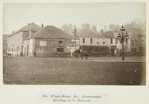 The Weigh-House, &c., Greenmarket. Buildings to be Removed [Dundee].