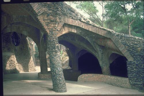 Colonia Guell Chapel, Barcelona.