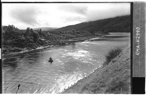Fishing the River Spean.