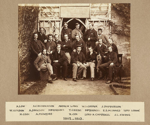 Residents of St Leonard's Hall: 1862-1863