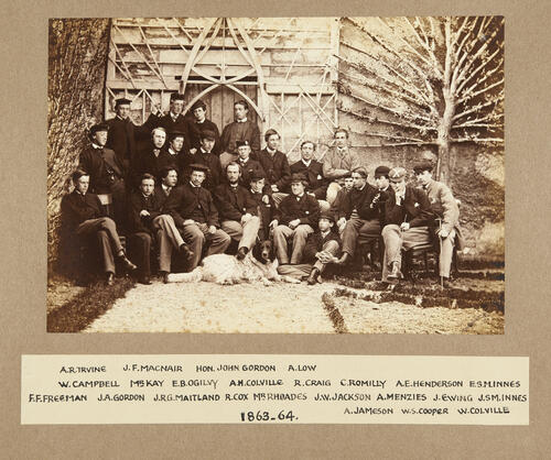 Residents of St Leonard's Hall: 1863-1864