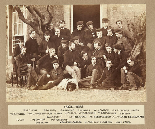 Residents of St Leonard's Hall: 1864-1865