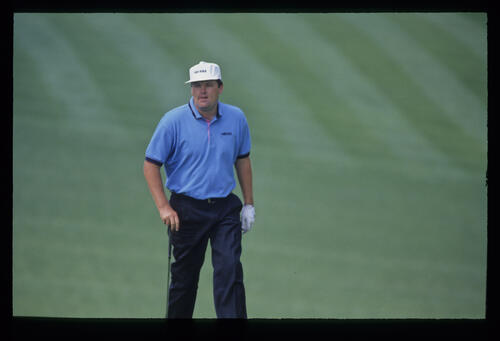 Steven Richardson on the fairway during the 1992 Masters