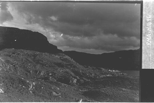 Raven's rock with Ben Shieldaig.
