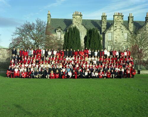 The Students of University Hall, University of St Andrews.