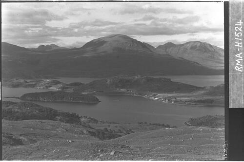 Shieldaig and environs.