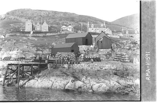 Herring curing station, Barra.