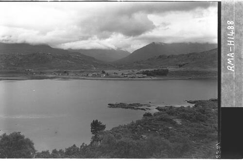 Shieldaig from opposite shore.