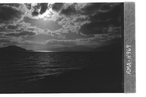Sky effect over sea, Loch Linnhe
