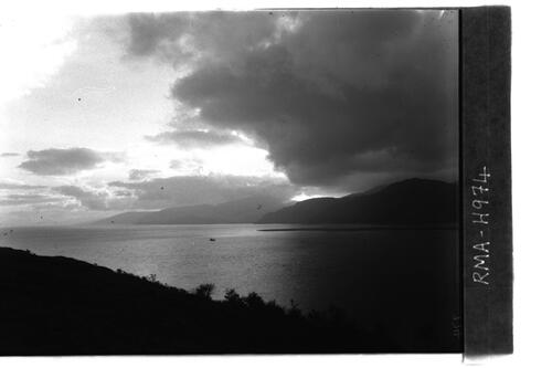 Loch Linnhe at sunset.