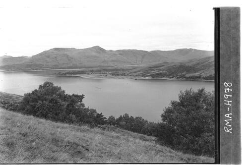 Entrance to Loch Leven.