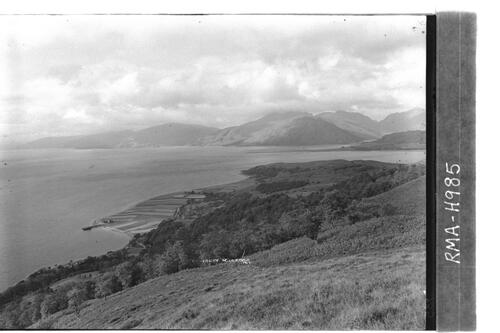Loch Linnhe and Kingairloch.