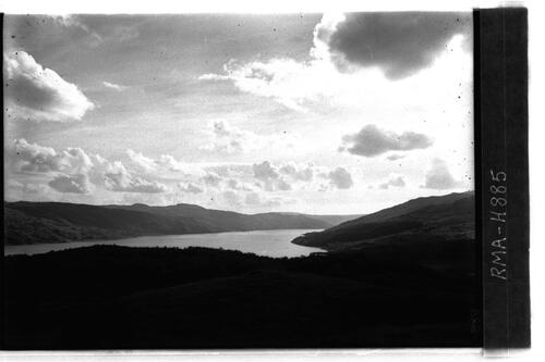 Loch Sunart to south west.