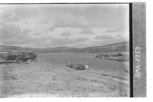 Lochaline village and loch.