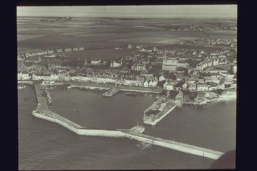 Anstruther from the air.
