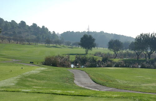 3rd Hole, Son Muntaner Golf Course.
