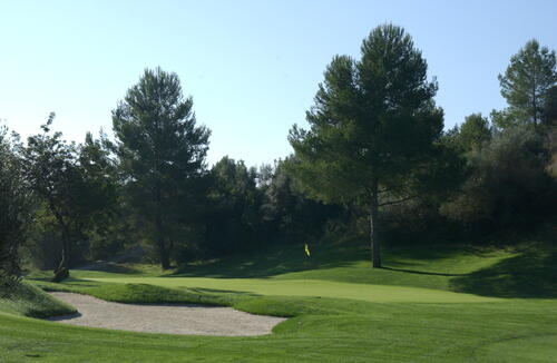 4th Hole, Son Muntaner Golf Course.