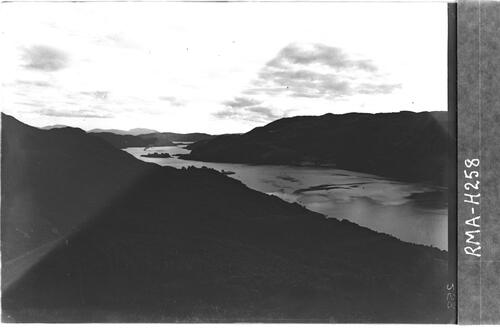 Kyles of Bute from Dun Mor.
