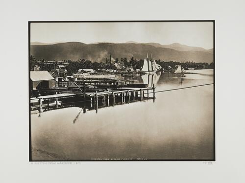 Kingston from the Harbour, Jamaica, 1891