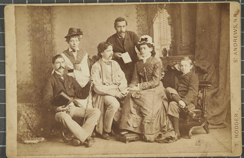 [Portrait of a family(?)]