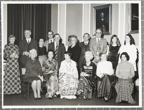 Unicef meeting in Lower College Hall, 6th February 1976