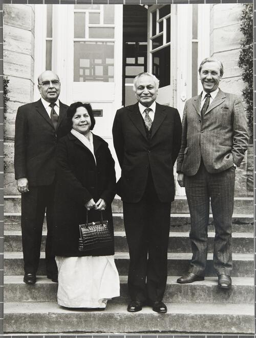 Visit by Indian High Commissioners, March 1976