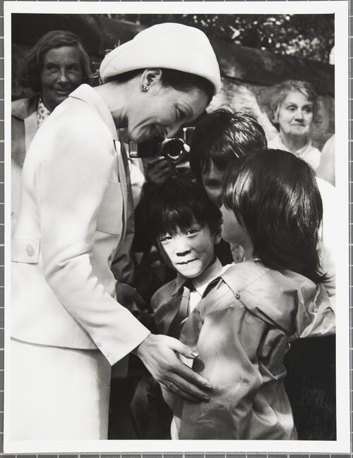 Visit by the Prince and Princess of Japan, 19th June 1976