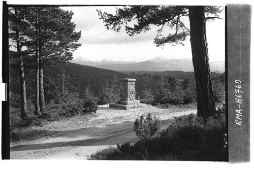 Monument, Glenmore Forest.