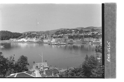 Oban Bay from Pulpit Hill.