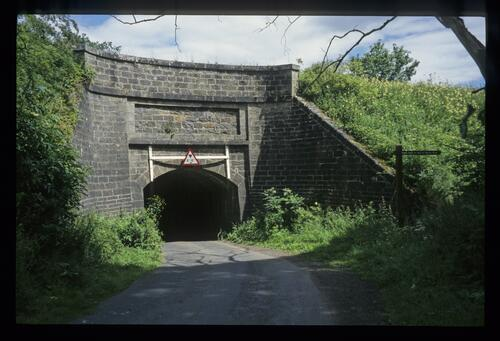 The Bethankie Aqueduct where the road goes under the Union Canal.