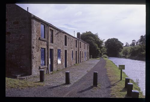Woodcockdale, once the Union Canal stables.