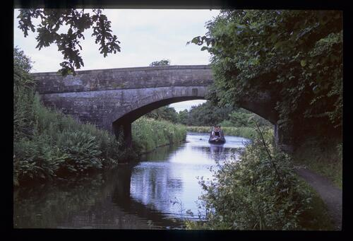 Two bridges along from idyllic - Bridge 53, the Union Canal [near Linlithgow].