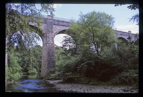The Avon Aqueduct at the Union Canal [near Linlithgow].