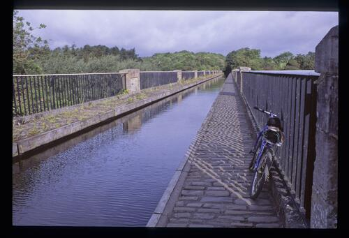 The Avon Aqueduct [Union Canal near Linlithgow].