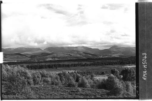 Clouds over Cairngorms.