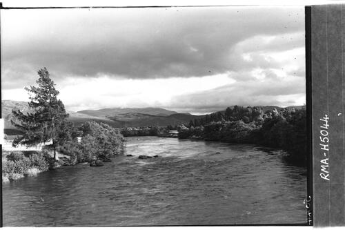 River Spey at Boat of Garten.
