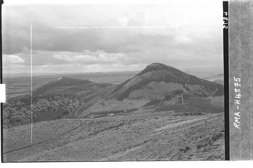 The Eildon Hills.