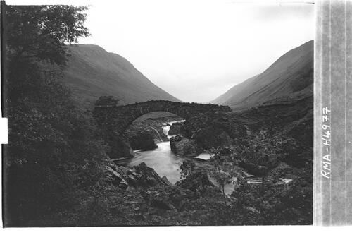 Black bridge, Glen Tilt.
